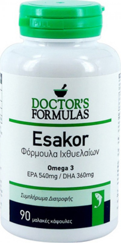 DOCTOR`S FORMULAS ESAKOR 90 SOFTGELS