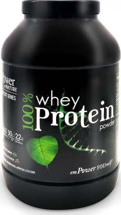 POWER OF NATURE SPORT SERIES 100% WHEY PROTEIN POWDER ΓΕΥΣΗ ΒΑΝΙΛΙΑ 1KG