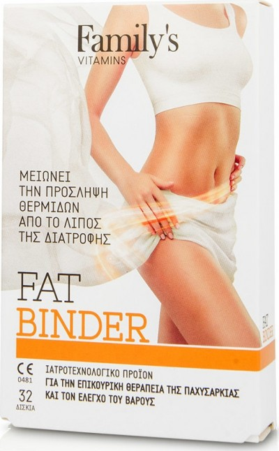 POWER HEALTH FAMILY'S VITAMINS FAT BINDER 32 ΔΙΣΚΙΑ
