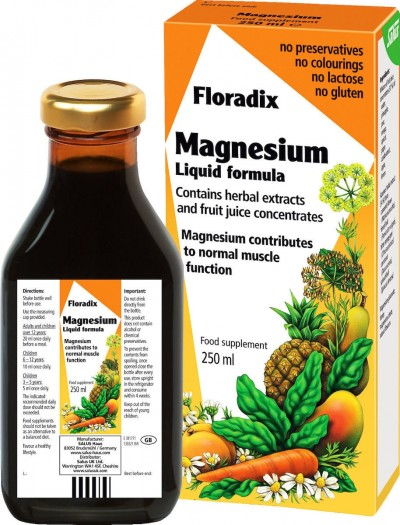 POWER HEALTH FLORADIX MAGNESIUM LIQUID 250ml