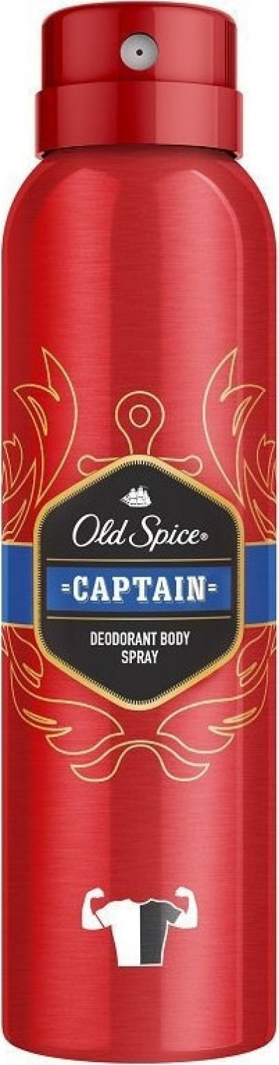 OLD SPICE CAPTAIN DEODORANT BODY SPRAY 150ml