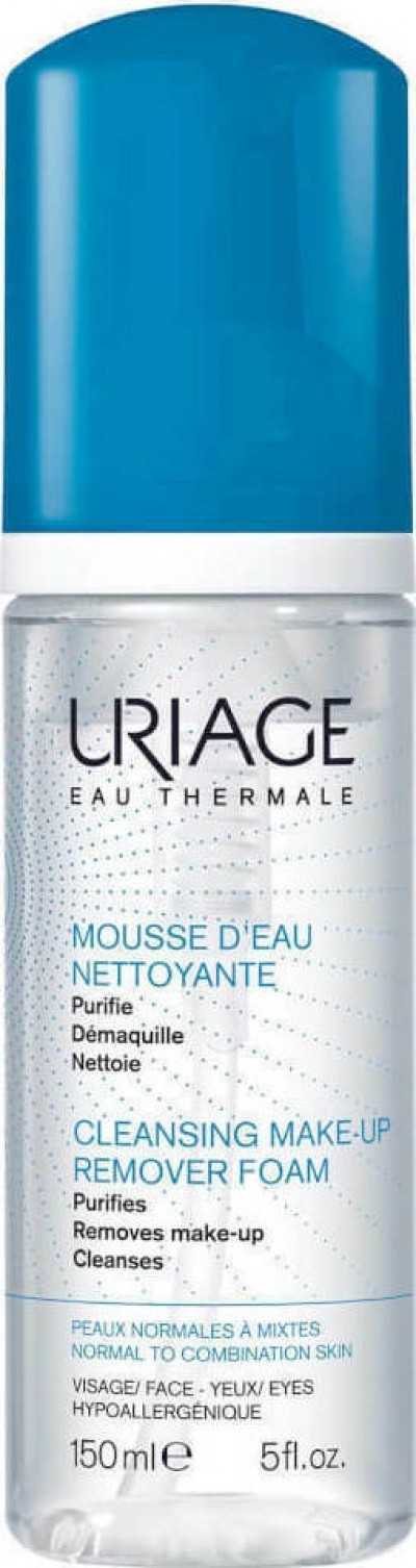 URIAGE EAU THERMALE CLEANSING MAKE-UP REMOVER FOAM 150ml