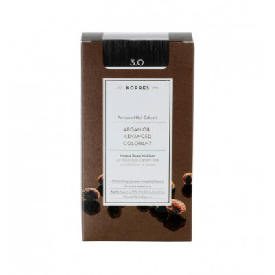 KORRES ARGAN OIL COLOR DARK BROWN 3.0