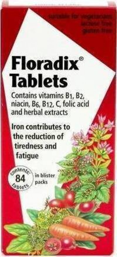 POWER HEALTH FLORADIX TABLETS 84TABS