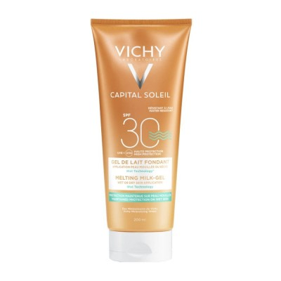 VICHY CAPITAL SOLEIL MILK-GEL WET SKIN TECHNOLOGY SPF30SPF30 200ml