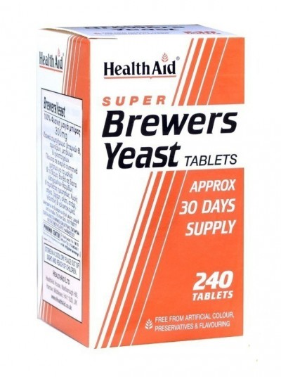 HEALTH AID SUPER BREW.YEAST 300MG 240TAB
