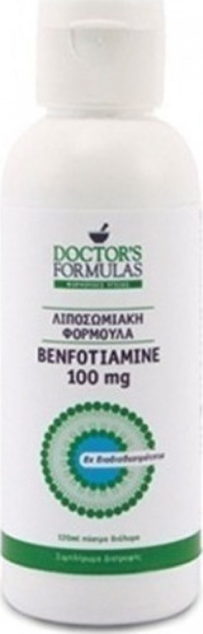 DOCTOR'S FORMULA BENFOTIAMINE 100MG 120ML