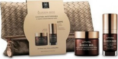 APIVITA QUEEN BEE Day Cream Light 50ml & Eye Cream 15ml