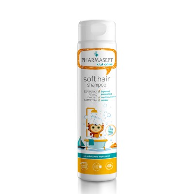 PHARMASEPT KID CARE SOFT HAIR SHAMPOO ,ΠΑΙΔΙΚΟ ΣΑΜΠΟΥΑΝ 300ML