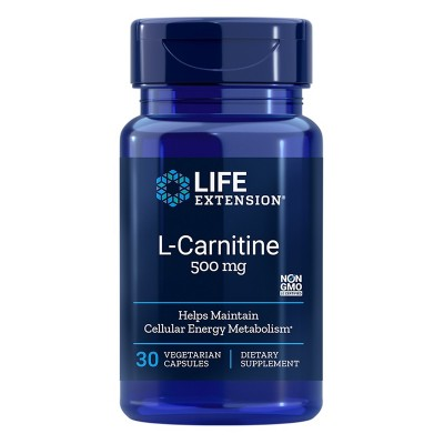 LIFE EXTENSION L-CARNITINE 500mg 30 ΚΑΨΟΥΛΕΣ