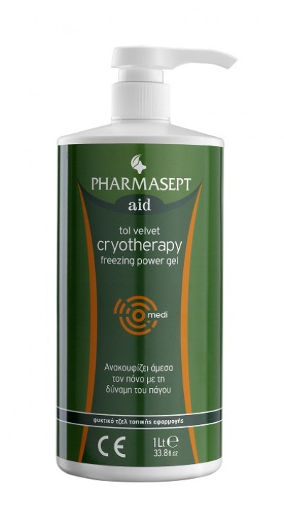 PHARMASEPT CRYOTHERAPY FREEZING POWER GEL 1lt
