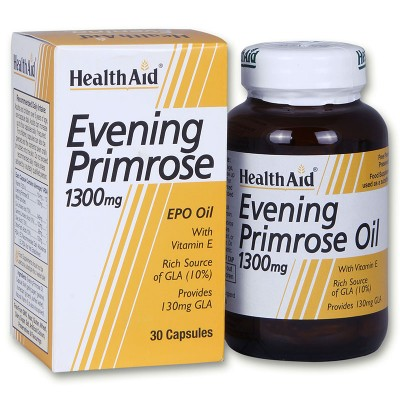 HEALTH AID EVENING PRIMROSE OIL 1300MG 30CAP