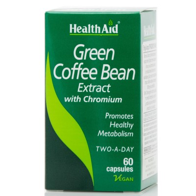 HEALTH AID GREEN COFFEE ΒΕΑΝ 60CAPS