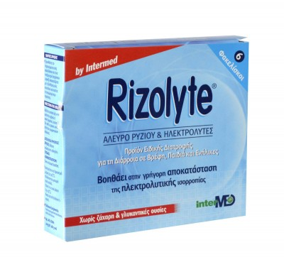INTERMED RIZOLYTE SACHETS X6
