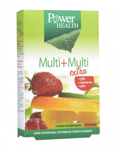 POWER HEALTH MULTI + MULTI EXTRA TABS 30S