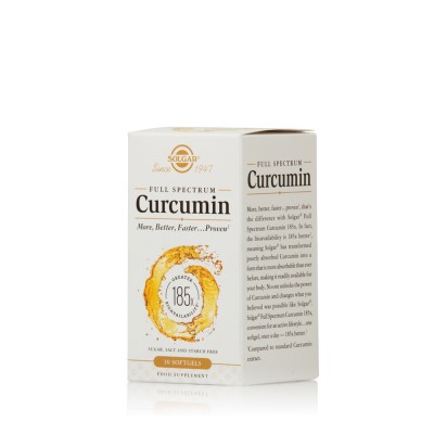 SOLGAR CURCUMIN FULL SPECTRUM SOFTGELS 30s
