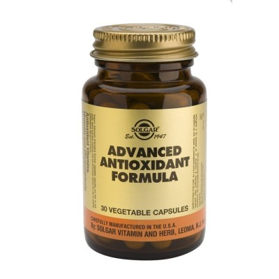 SOLGAR ADVANCED ANTIOXIDANT FORMULA VEGICAPS 30S