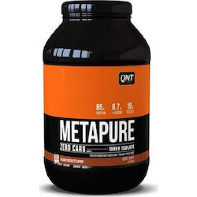 QNT Metapure Zero Carb Whey Isolate 908gr Belgian Chocolate.