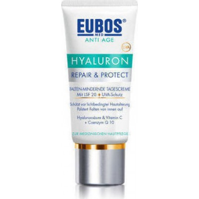 EUBOS CREAM HYALURON REPAIR & PROTECT ΚΡΕΜΑ ΑΝΑΠΛΑΣΗΣ SPF20 50ML