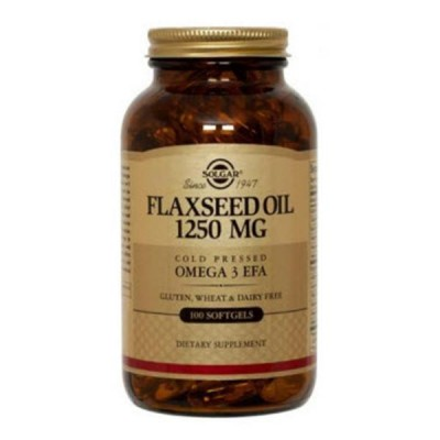SOLGAR FLAXSEED OIL 1250MG SOFTGELS 100S