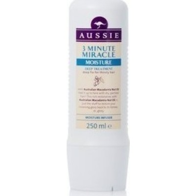 AUSSIE 3 MINUTE MIRACLE MOISTURE 250ml