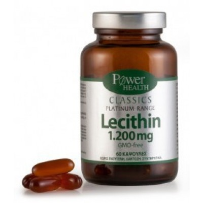 POWER HEALTH PLATINUM LECITHIN 1200mg 60 CAPS