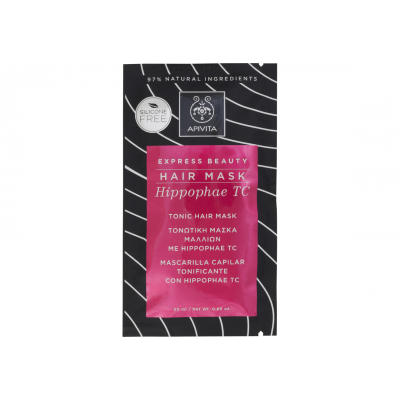 APIVITA EXPRESS BEAUTY HAIR MASK ΤΟΝΩΤΙΚΗ ΜΑΣΚΑ ΜΑΛΛΙΩΝ ΜΕ HIPPOPHAE TC 20ML