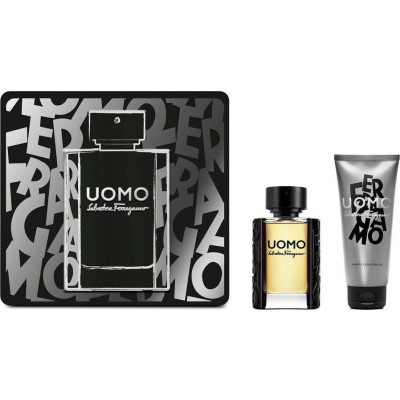 Salvatore Ferragamo Uomo Edt 50ml & Shower Gel 100ml