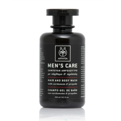 APIVITA MEN'S CARE HAIR AND BODY WASH 250ML