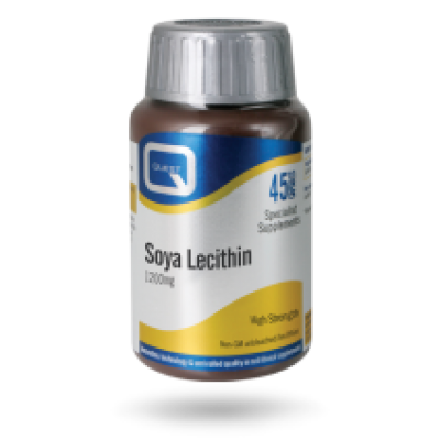 Quest Soya  Lecithin 1200mg 45 κάψουλες