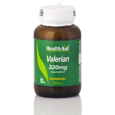 HEALTH AID VALERIAN ROOT EXTRACT 320MG 60TABS