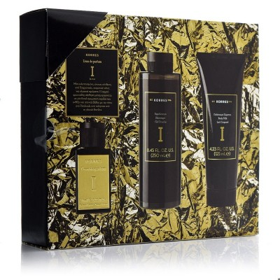 Korres Gift Set Premium Eau de Parfum I For Her 50ml + Γαλάκτωμα Σώματος 125ml + Αφρόλουτρο 250ml