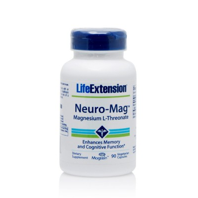 LIFE EXTENSION NEURO-MAG MAGNES.THREONAT 90 VEG.CA