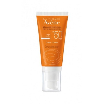 Avene Eau Thermale Very High Protection Creme, Αντιηλιακή Κρέμα με Πολύ Υψηλό Δείκτη Προστασίας SPF 50+ Με άρωμα, 50ml