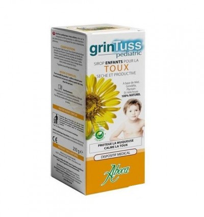 ABOCA GRINTUSS PEDIATRIC BIO 210g