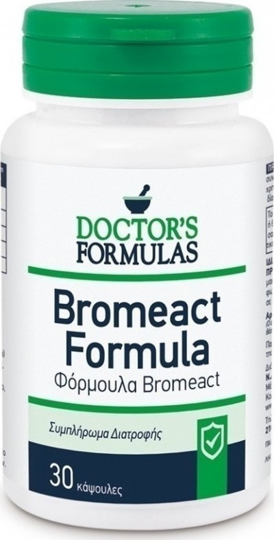 DOCTOR`S FORMULAS BROMEACT 30 CAPS