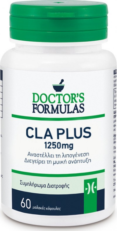 DOCTOR'S FORMULAS CLA 1250MG 60SOFT CAPS