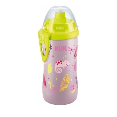 NUK JUNIOR CUP ΜΕ ΚΑΠΑΚΙ PUSH-PULL 300ml