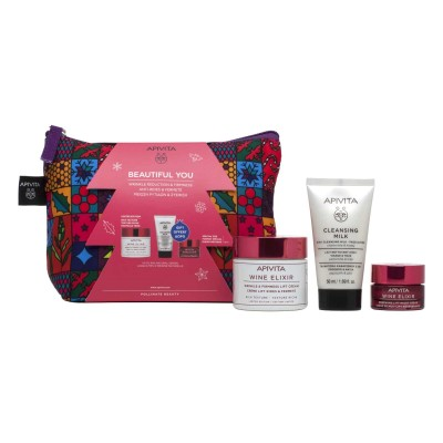 APIVITA BEAUTIFUL YOU PROMO PACK WINE ELIXIR SET ΠΛΟΥΣΙΑ ΥΦΗΣ