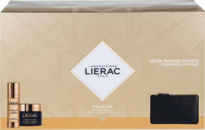 LIERAC LA CURE ABSOLUTE ANTI-AGEING CREAM 30ml & VOLUPTUEUSE CREME 50ml & ΔΕΡΜΑΤΙΝΟ ΠΟΡΤΟΦΟΛΙ RUE DES FLEURS MONACO