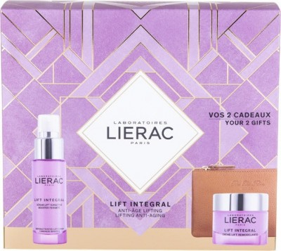 LIERAC LIFT INTEGRAL FOR NORMAL DRY SKIN SCULPTING LIFT CREAM 50ml & SUPERACTIVATED LIFT SERUM30ml & ΔΕΡΜΑΤΙΝΟ ΠΟΡΤΟΦΟΛΙ RUE DES  FLEURS MONACO