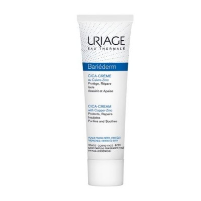 URIAGE BARIEDERM REPAIR CICA-CREAM WITH COPPER ZINC 100ml