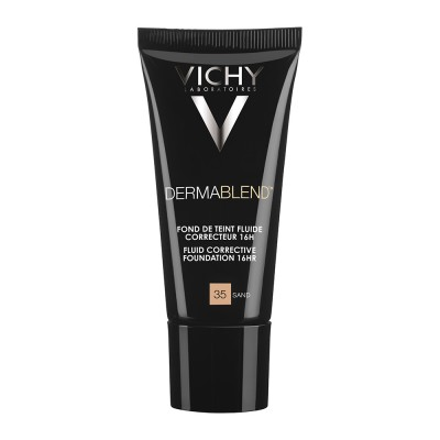 VICHY DERMABLEND FLUID MAKE-UP 35 - SAND SPF35 30ml.