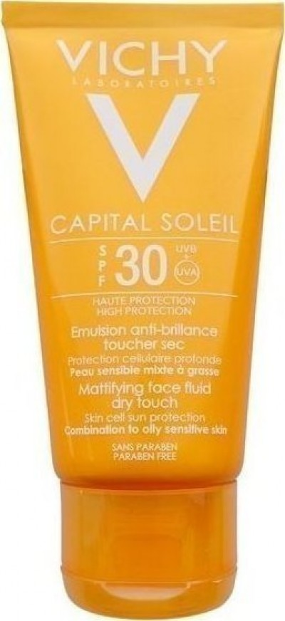 VICHY IDEAL SOLEIL MATTIFYING FACE DRY TOUCH SPF30 50ml