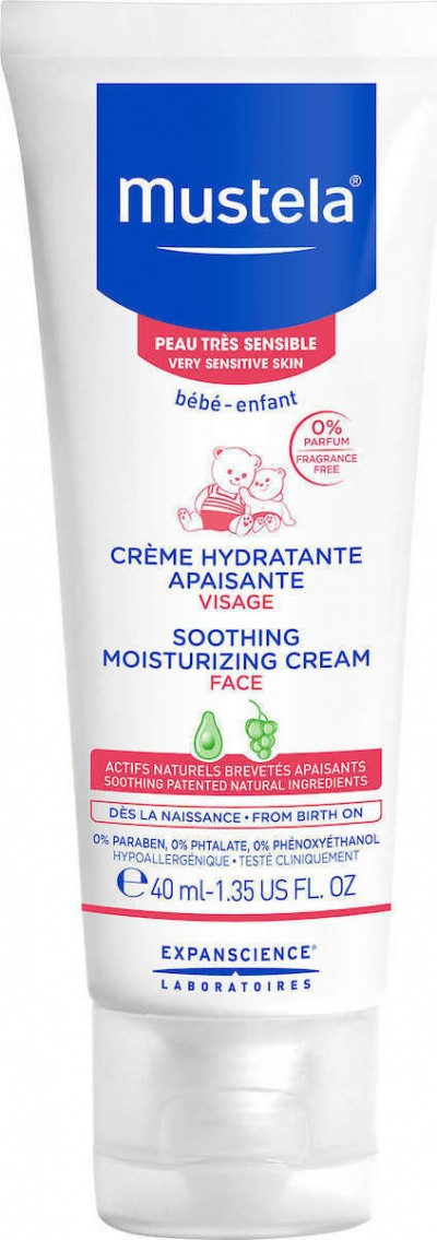 MUSTELA SOOTHING FACE CREAM 40ML