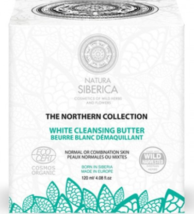 NATURA SIBERICA WHITE CLEANSING BUTTER 120ml