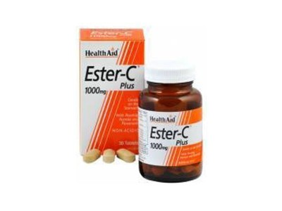 HEALTH AID ESTER C 1000MG 30TAB