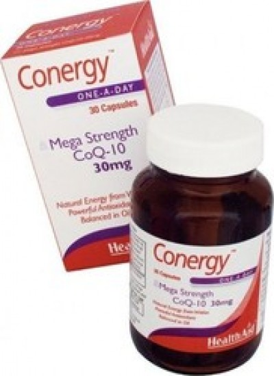 Health Aid Conergy CoQ-10 30mg 30 κάψουλες