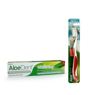 Optima AloeDent ALOE VERA TOOTHPASTE (WHITENING) 100ml