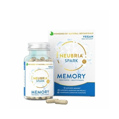 Neubria Spark Memory Supplement 60 κάψουλες